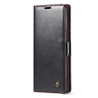 Luxury Case For Samsung Note 10 Card Magnetic Flip Pu Leather Wallet Cover For Samsung Galaxy Note 10 Flip Phone Cover