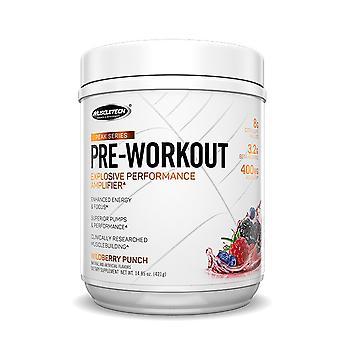 Peak Series Pre-Workout, Strawberry Lemonade - 440 grams