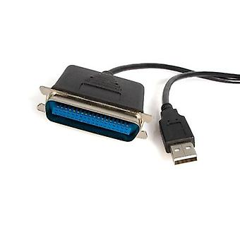 adaptateur StarTech.com 3m USB vers imprimante parallèle - M / M, 30.5m, Centronics, US