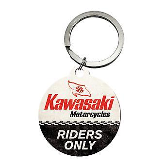 Kawasaki Motorcykel Riders Endast nostalgisk nyckelring - Cracker Filler Gift