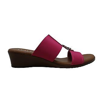 ITALIAN Shoemakers Womens 5871S8 Fabric Open Toe Casual Strappy Sandals