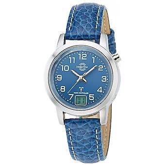 Master Time Blue piele naturală MTLA-10490-32L ceas pentru femei