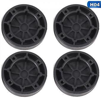 4pcs Anti Vibration Füße Pads Waschmaschine Gummimatte Anti-Vibration Pad Trockner Universal Fest