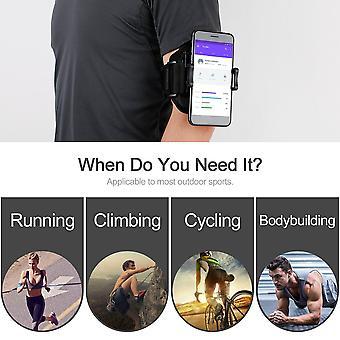 ランニングスポーツアームバンド携帯電話ホルダークリップスポーツベルトジムアームストラップ