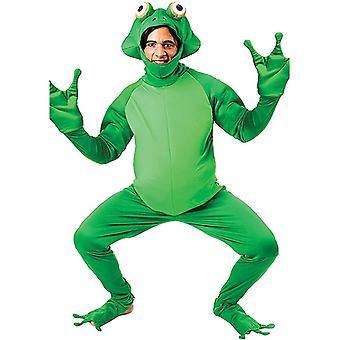 Férfi béka herceg Cosplay Újdonság Egyrészes jelmezek, felnőtt Animal Party Suits.