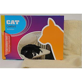 Cat Radiator Bed made from Soft Fleece attach it on the radiator