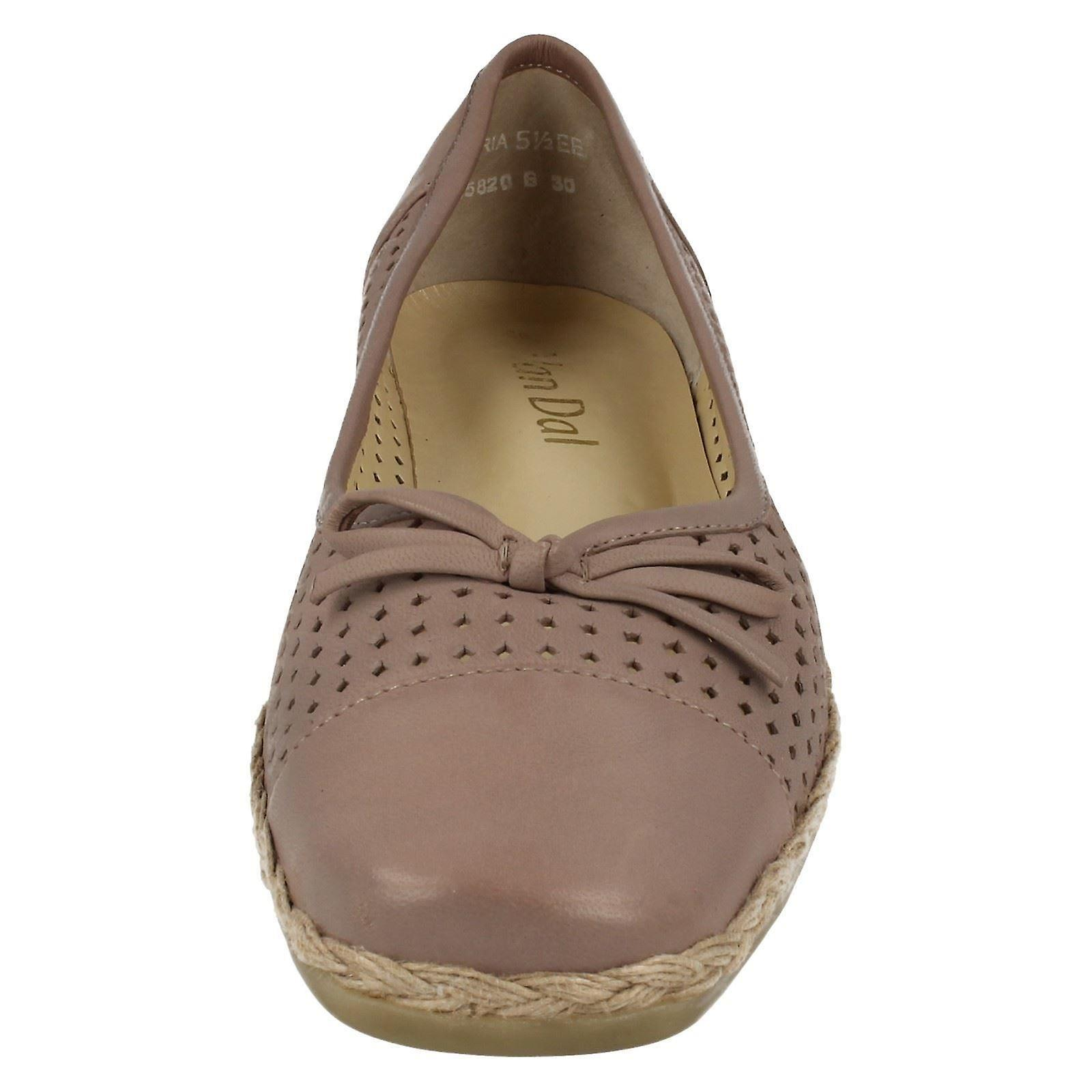 Mesdames Van Dal Wide Fitting Casual chaussures Cambria