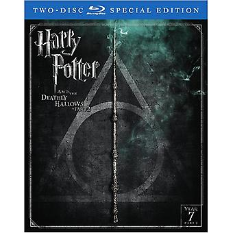 Harry Potter & the Deathly Hallows - Part II [Blu-ray] USA import