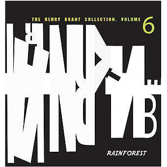 Henry Brant - The Henry Brant Collection, Vol. 6: Rainforest [CD] USA import