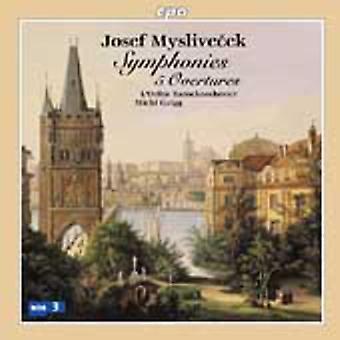 J. Myslivecek - Josef Myslivecek: Symfonieën; 5 overtures [CD] USA importeren