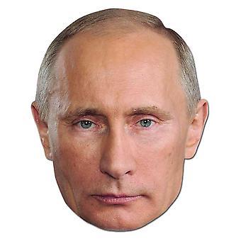 Vladimir Putin Russisk president Politiker Kort Fest Fancy Dress Mask