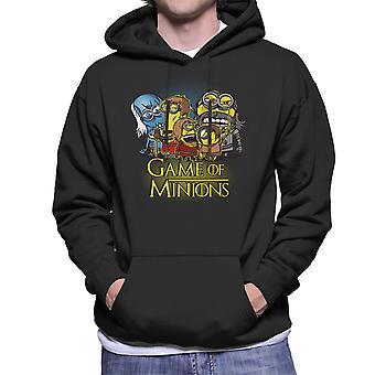 Game Of Thrones Minions Men's Hooded Sweatshirt