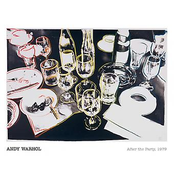 After the Party 1979 Poster Print by Andy Warhol (20 x 16)