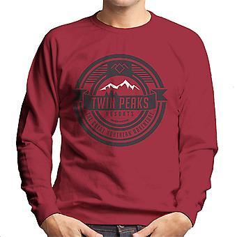 Twin Peaks Resort Great Northern Men's Sweatshirt