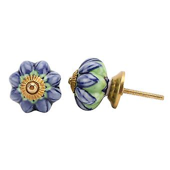 CGB Giftware Purple/Green Melon Drawer Handle