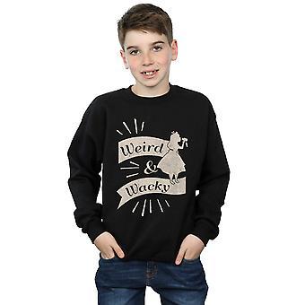 Disney Boys Alice In Wonderland Weird And Wacky Sweatshirt