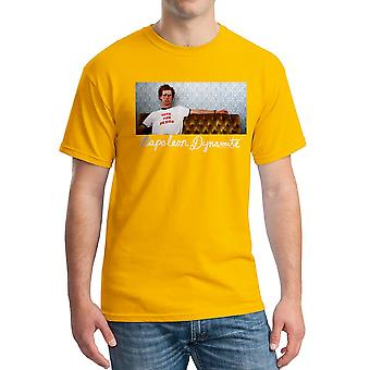 Napoleon Dynamite Napoleon Couch Men's Gold Funny T-shirt