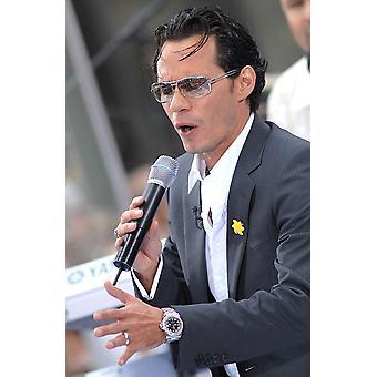 Marc Anthony auf der Bühne für Marc Anthony auf der Nbc heute Show Rockefeller Center New York Ny 27. Juli 2007 Foto: Kristin CallahanEverett Sammlung Celebrity