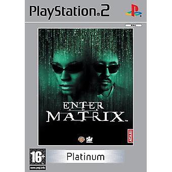 Ange Matrix Platinum (PS2) - Ny fabrik förseglad