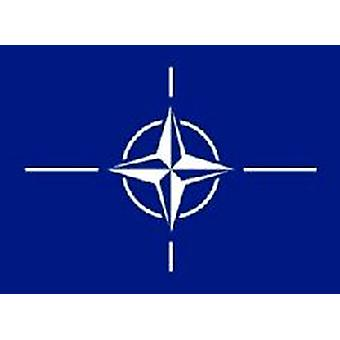 Nato Flag 5ft x 3ft With Eyelets For Hanging
