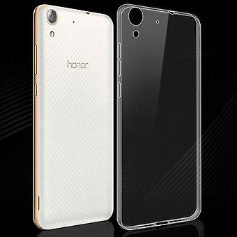 Silikoncase transparent 0.3 mm ultra thin case for Huawei Y6 2 / honor 5A bag