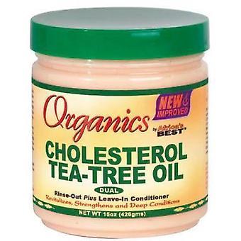 Mejor colesterol orgánico aceite árbol del té de África 15oz