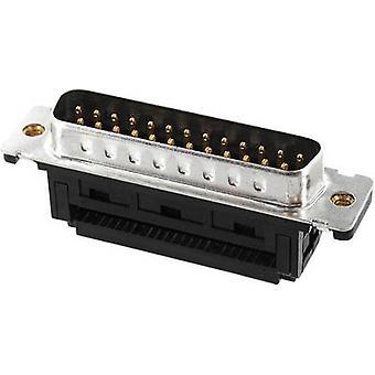 ECON ST25SK/FGOZ D-SUB-Stiftleiste 90 ° Anzahl der Pins verbinden: 25 Cut & Clip 1 PC