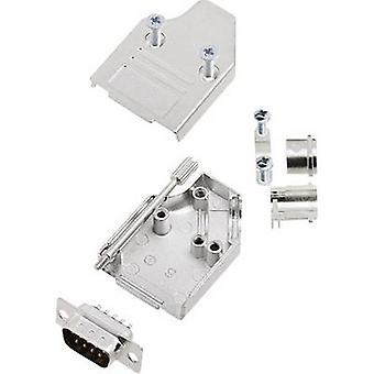 encitech MHDM35-09-DMP-K 6355-0008-01 D-SUB juego de tiras de pasador 45o Número de pines: 9 Cubo de soldadura 1 Conjunto