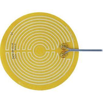 Thermo TECH Polyester Heating folie zelfklevende 12 V DC, 12 V AC 14 W IP rating IPX4 (Ø) 174 mm