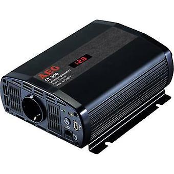 AEG inverter ST 500 500 W 12 V DC-230 V AC inkl fjärrkontroll