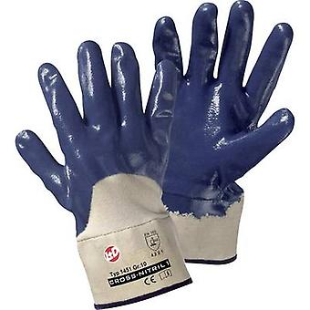 L+D Cross-Nitril1 1451 Nitrile butadiene rubber Protective glove Size (gloves): 10, XL EN 388 CAT II 1 Pair