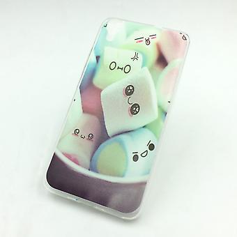 Eloisa hylsy Huawei g pelata mini vaahtokarkkeja pussiin tapauksessa pussi + 1 x säiliö lasi