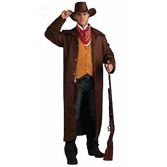 Gunfighter Gunslinger Western Rodeo Cowboy Far West Mens Costume