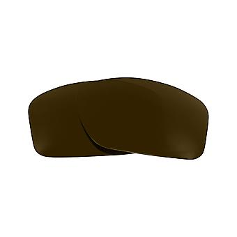 Polarized Replacement Lenses for Oakley Valve Sunglasses Dark Brown Anti-Scratch Anti-Glare UV400 by SeekOptics