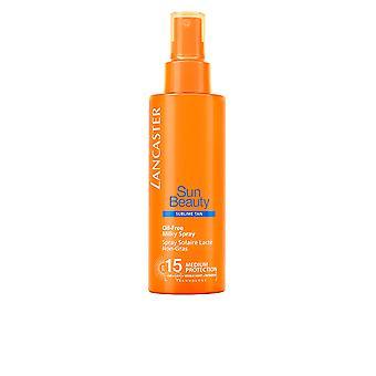 Lancaster Sun Beauty Oil Spray laiteux gratuit Spf15 150 Ml unisexe