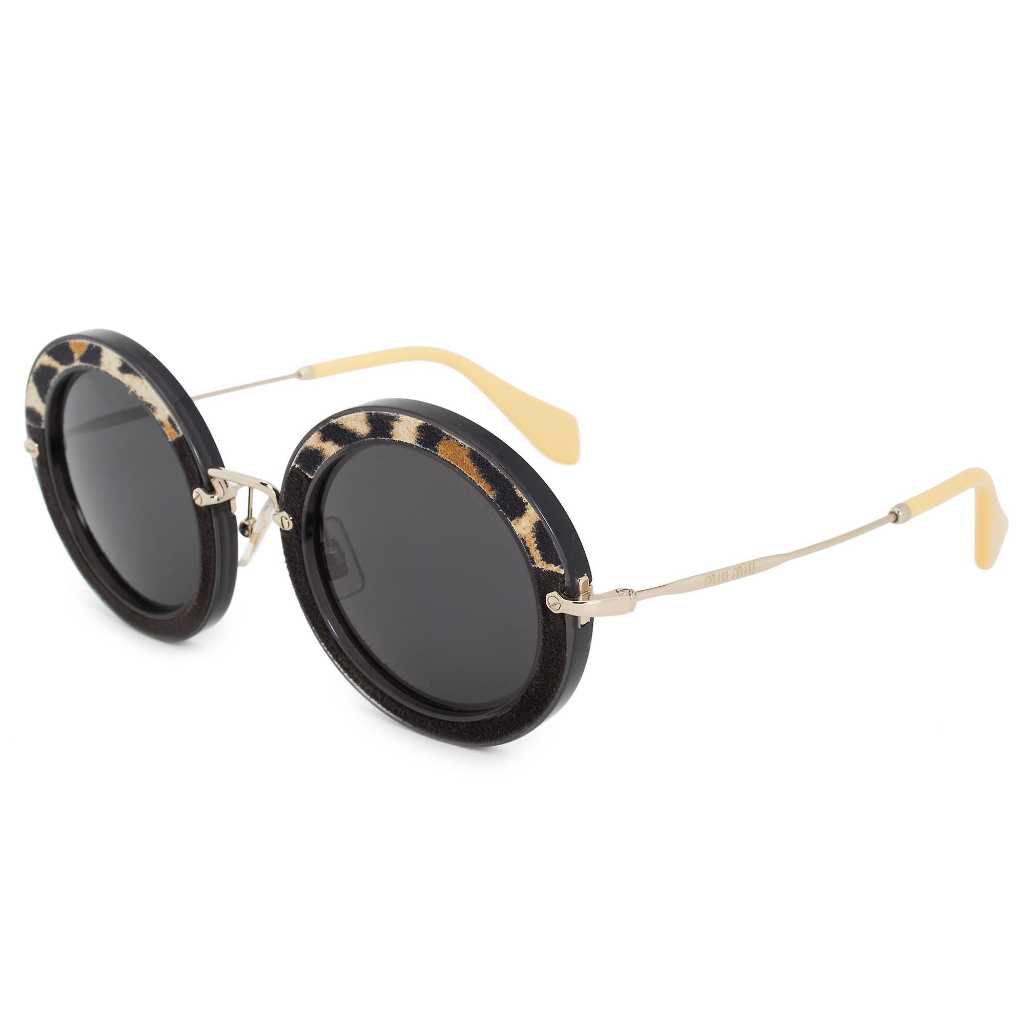 Miu Miu Round Sunglasses SMU08RS USC1A1 49