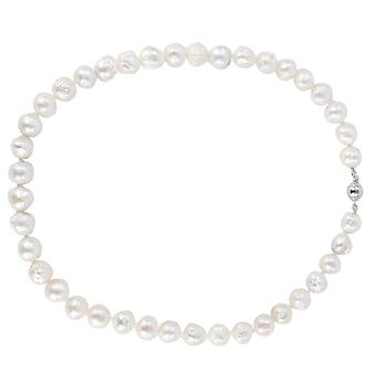 Pearl Aurora Small Snowball Freshwater Pearl Necklace - White