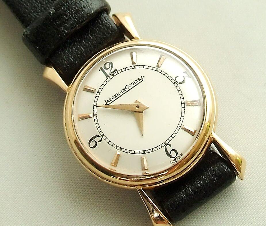 Gold Jaeger LeCoultre watch