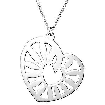 Necklace With Pendant 925 Sterling Silver Jewellery, Heart