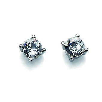 Oliver Weber Post Earring Sweet Rhodium Crystal