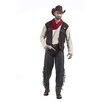 Cowboy Western maakte mens kostuum Wild West kostuum mannen