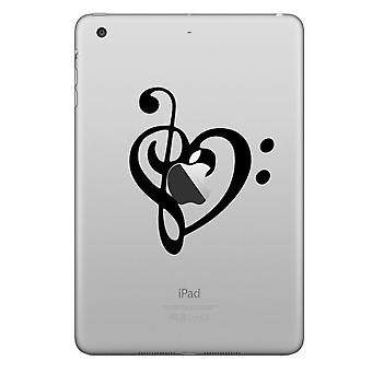 HAT PRINCE stylish Chic decal sticker iPad etc-Heart Note