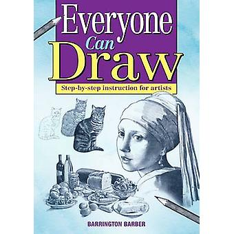 Everyone Can Draw by Barrington Barber - 9781782126249 Book