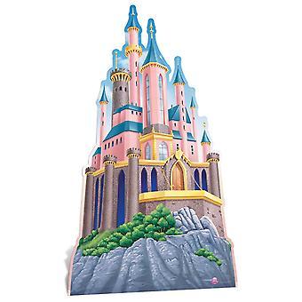 Castelo de princesas da Disney grande recortada / cartaz