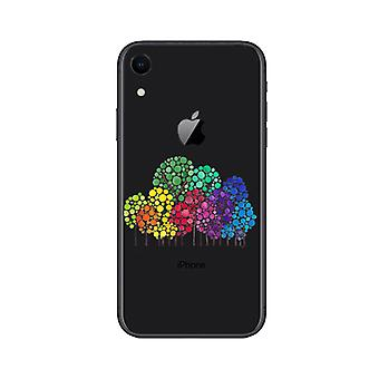 Glückliche Bäume Handytasche - iPhone XR