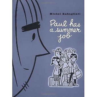 Paul heeft een zomerbaan