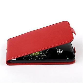 Copertura Cadorabo Case per LG G5 Case Cover - Custodia per telefono in flip design in pelle finta strutturata - Case Cover Case Case Case Book Folding Style