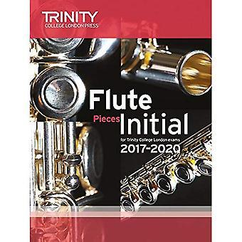 Trinity College London: Flöjt examen bitar inledande klass 2010 – 2020 (poäng & del)