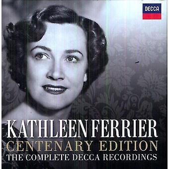 Kathleen Ferrier - édition du centenaire: The Complete Recordings Decca [CD] USA import