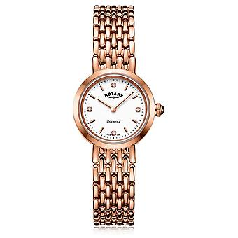 Rotary | Dames Rose Gold Bracelet | LB00901/70/D Watch